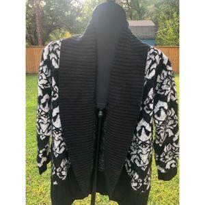Black Rivet Sweater